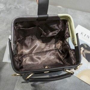 Image 5 - Fashion Cartoon Pattern Pu Leather Crossbody Bags for Women Trending Female Shoulder Handbags Doctor Tote