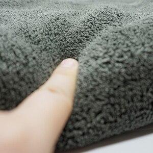 Image 3 - Detallado de coches toalla 40*60CM microfibra coche herramienta de limpieza de 1200GSM de secado de espesar de lavado de coche de trapo de cocina casa