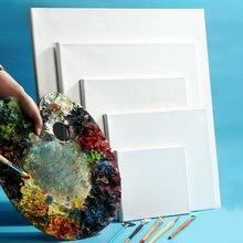 Toile de cadre en bois de coton, 4 pièces, 30x40, vierge, panneau professionnel, peinture à l'huile, fournitures d'art pour artiste