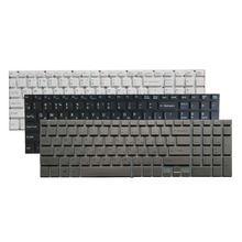 Russian laptop Keyboard for Sony VAIO SVF152C29V SVF153A1QT SVF152 SVF15A100C SVF152100C SVF153 SVF1521Q1RW White/black/silver