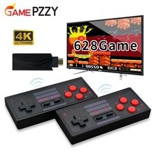 Consola 4K HDMI con 628/818/1000 juegos clásicos, miniconsola Retro, mando inalámbrico, salida HDMI, reproductores duales