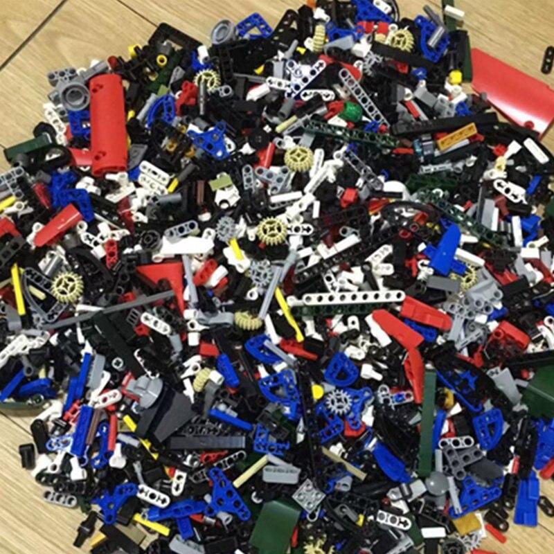 500g Random Bulk Parts Model DIY Creative Building Block Compatible Legoinglys Technic Bricks Educational Toy For Children Gifts