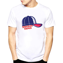 BTFCL 2019 Stranger Things Cool Print TShirt Men Funny Anime White Unisex Short T Shirt Cotton Streetwear Camiseta Masculina