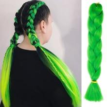 AISI волосы Омбре огромные косички синтетические косички волосы для наращивания для девушек женщин леди крючком косички Kanikalon волосы кроше