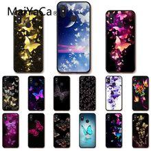 Maiyaca Beautiful butterfly flower Phone Case for Xiaomi mi5 6 A1 A2 Lite Mi9 9SE mi8lite 8explorer Pocophone F1