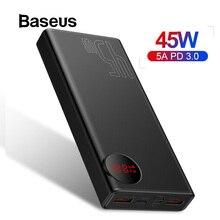 Baseus 20000mAh Power Bank 45W USB PD Fast Charging Powerban