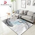 Bubble Kiss деликатные мягкие ковры и ковры для дома  гостиной  красивые ковры с абстрактными рисунками для гостиной  перьев  для дома