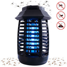 Portable LED Nyamuk Insect Killer Lampu Fly Bug Penolak Anti Nyamuk UV Lampu Malam untuk Indoor(China)