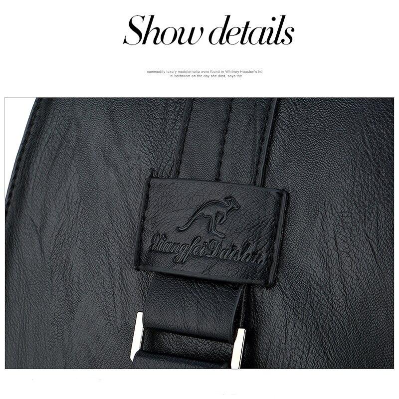 Women's Vintage Leather Backpack 10
