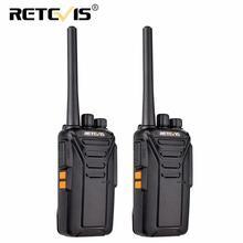ES 창고 Retevis RT27 워키 토키 2pcs PMR 라디오 PMR446/FRS 0.5W/2W 복스 USB 충전 휴대용 양방향 라디오 워키 토키