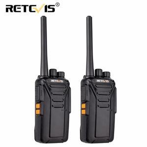 Image 1 - Es armazém retevis rt27 walkie talkie 2 peças pmr rádio pmr446/frs 0.5 w/2 w vox usb carregamento portátil rádio bidirecional walkie talkies