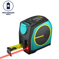Mileseey DT10 Laser Tape Measure 2 in 1 Digital Laser Measure Laser Rangefinder with LCD Digital Display,Magnetic Hook