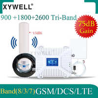 Repeater 4g 900 1800 2600 mhz wzmacniacz sygnału GSM gsm DCS LTE 2G 3G 4G tri-band GSM wzmacniacz GSM komórkowy wzmacniacz sygnału komórkowego
