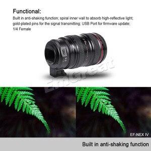 Image 5 - VILTROX EF NEX IV Auto โฟกัสเลนส์สำหรับ Canon EOS EF EF S เลนส์สำหรับ SONY E NEX Full กรอบ A9 AII7 A7RII A7SII A6500 A6300