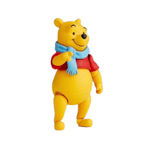 13.5cm Winnie the Pooh movie Winnie the Pooh doll toy PVC material joint removable doll model toy Pooh bear modetoybirthdaygift winnie