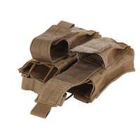 Caldo Molle Tactical Cartuccia di Clip Doppio Mag Magazine pouch Bag tattico Pistola Del Sacchetto Del Sacchetto Della Clip Strumento di Utilità 600D In Tessuto Oxford