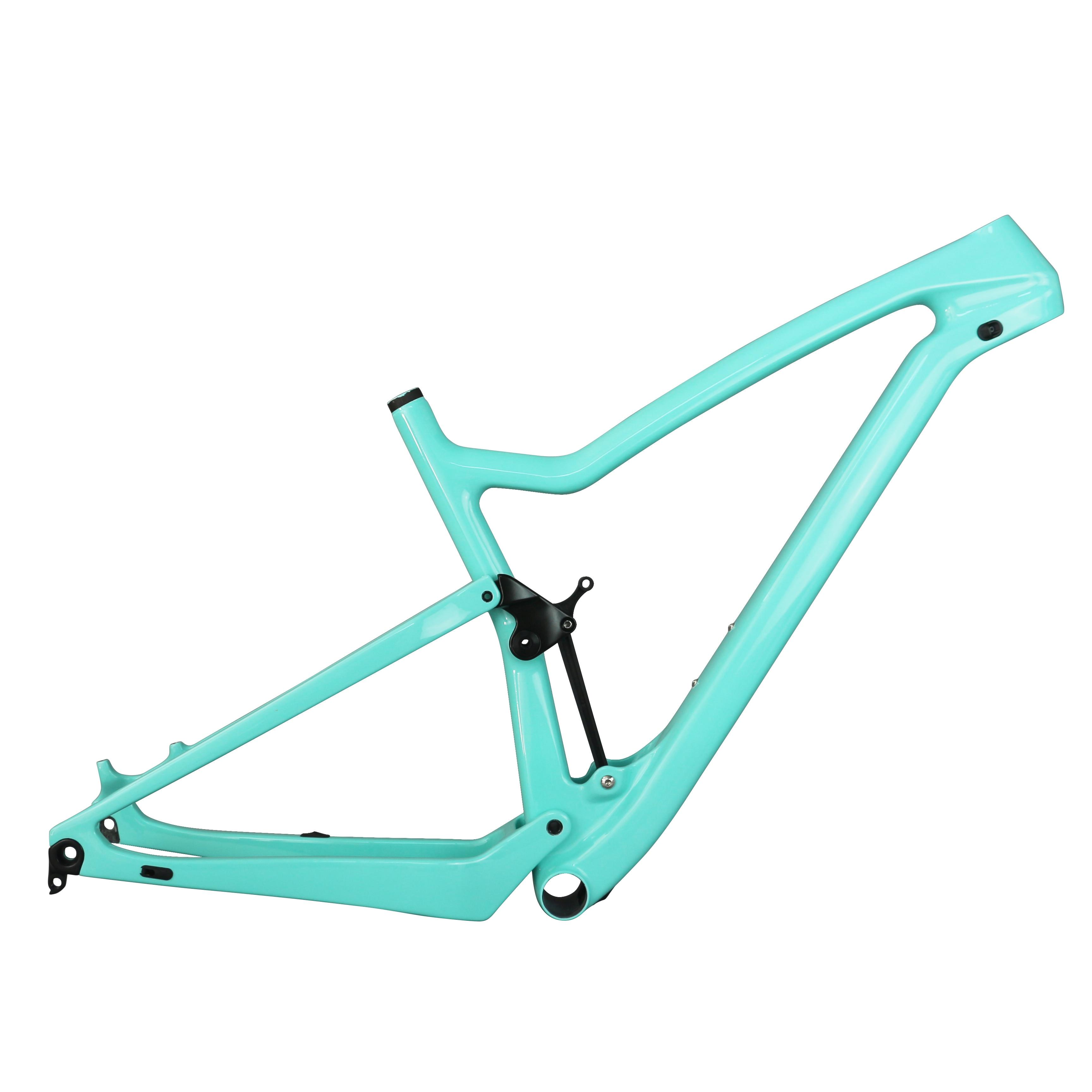 2020 29er XC Cross Country Carbon Frame Custom Paint Carbon Fiber T700 MTB Bike Frame Fs029