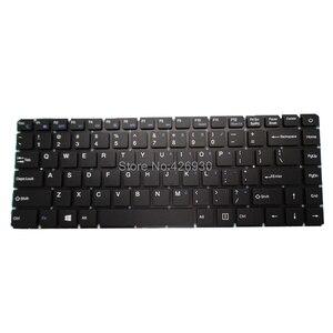 Image 1 - Clavier pour ordinateur portable RU US pour t bao pour TBook R8 R8S 15.6 russie anglais noir sans cadre nouveau