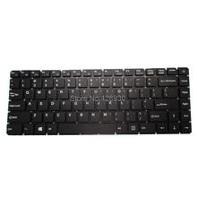 Computador portátil ru us teclado para t bao para tbook r8 r8s 15.6 rússia inglês preto sem moldura novo
