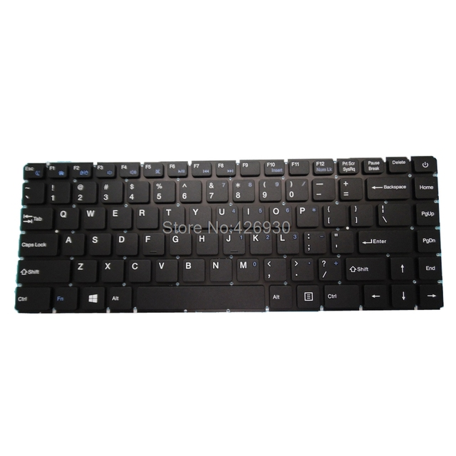 Laptop RU US Keyboard For T bao For TBook R8 R8S 15.6 Russia English black Without Frame New