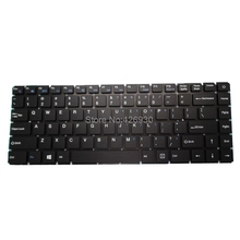 Laptop Ru Us Toetsenbord Voor T Bao Voor Tbook R8 R8S 15.6 Rusland Engels Zwart Zonder Frame Nieuwe