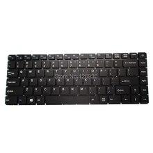 """מחשב נייד RU ארה""""ב מקלדת עבור T באו עבור אינץ R8 R8S 15.6 רוסיה אנגלית שחור ללא מסגרת חדש"""