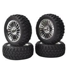 4 шт rc rally резиновые шины/колесные диски 12 мм шестигранные