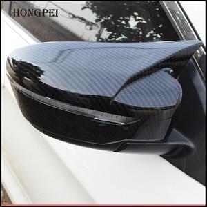 Image 2 - Acessórios do carro Para Nissan Juke 2015 216 2017 Porta Lateral Capa Espelho Retrovisor Rear View Sobreposição Adesivo Estilo Do Carro Guarnição