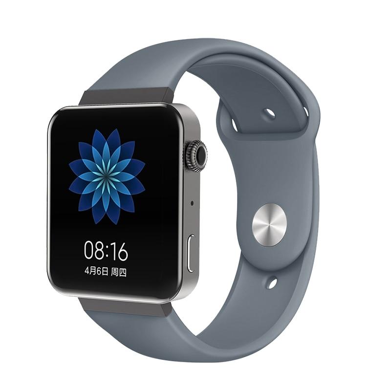 Мягкий силиконовый ремешок для часов для xiaomi smart watch, новинка, сменный ремешок для mi watch, резиновый ремешок для часов, аксессуары - Цвет: 8077