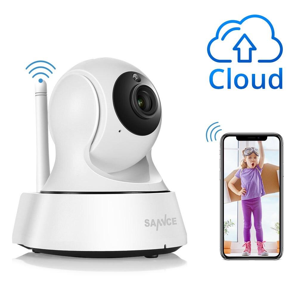 SANNCE seguridad IP Cámara Wi-Fi inalámbrico Mini red vigilancia Wifi 720 p cámara de visión nocturna CCTV Baby Monitor