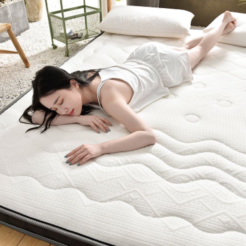 natural latex mattress 10cm thickness King Queen Full Twin size Memory foam filling Breathable Comfortable rebound Tatami
