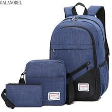 цена на Kids Backpack Boys Teenagers Boy Girls Men Laptop Backpacks with Waterproof Nylon Laptop Mochila Escolar Bags.
