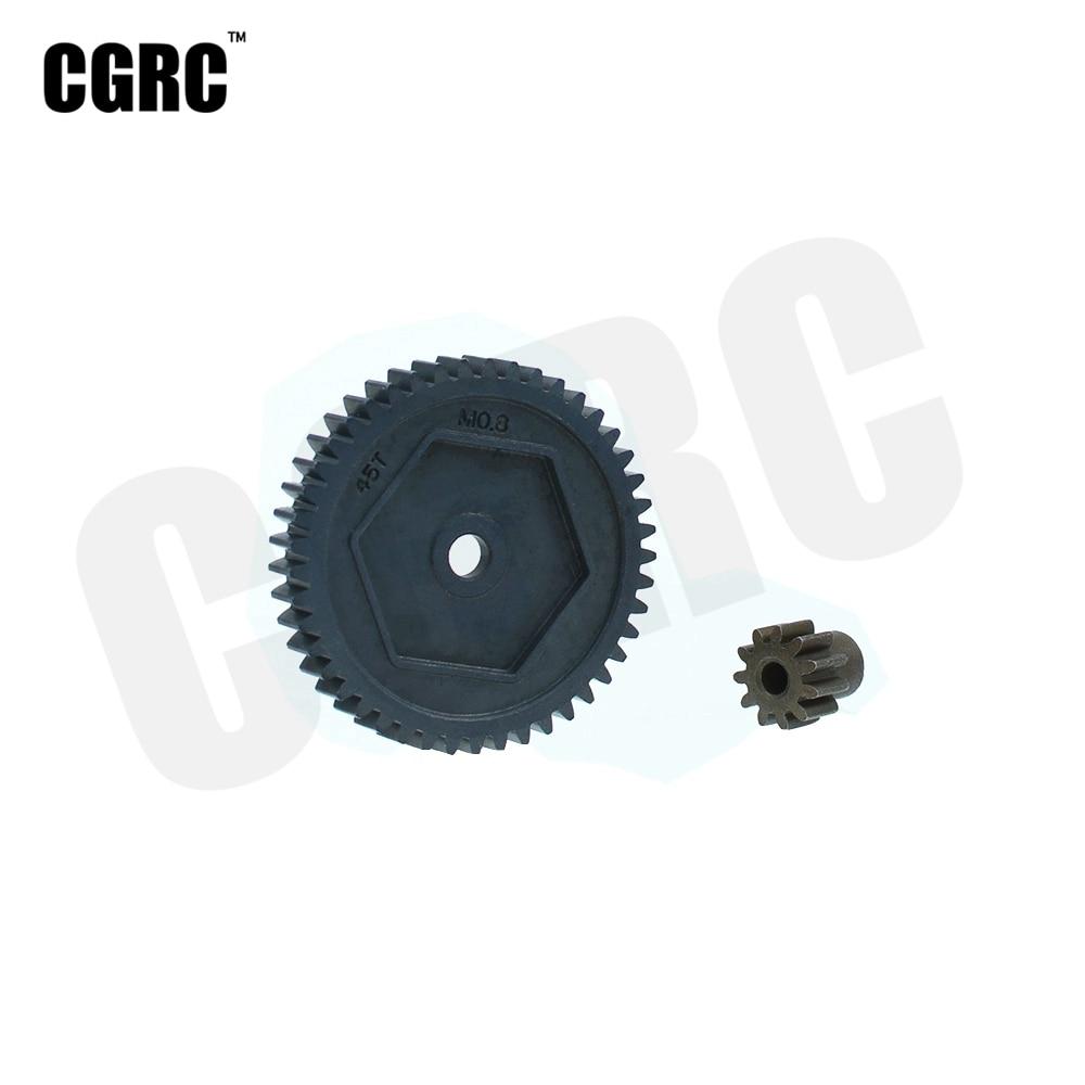 32P 45T 0.8M 8053 Harden Steel Spur Gear For 1:10 RC Crawler Traxxas TRX-4 TRX4