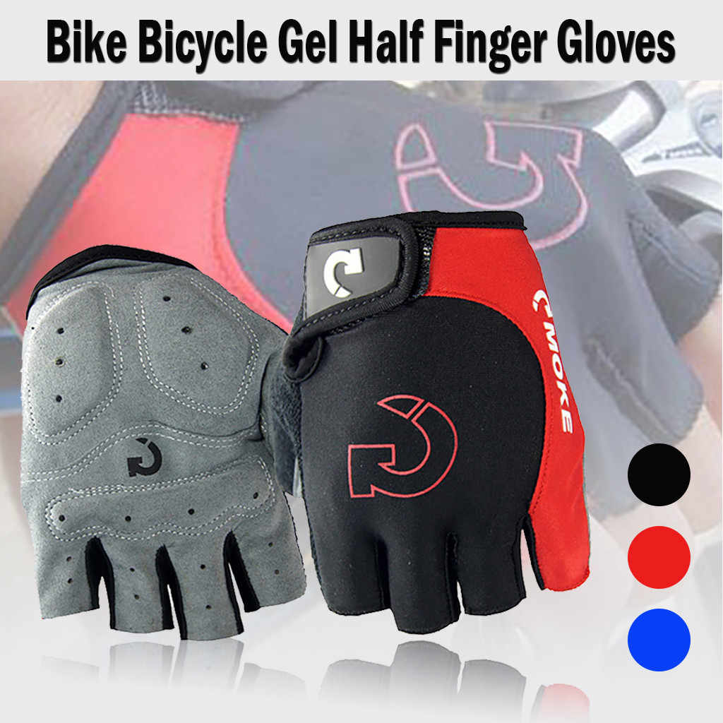 1 Pair New Half Finger Bike Bicycle Gloves Cycling Gloves Racing Glove