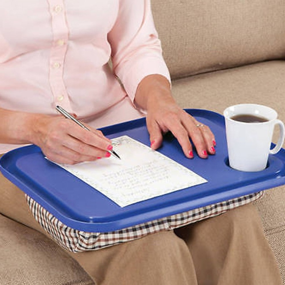 Портативный 42x33 см удобный лоток для ноутбука, стол для уличного обучения, ленивые столы, новая подставка для ноутбука, держатель для
