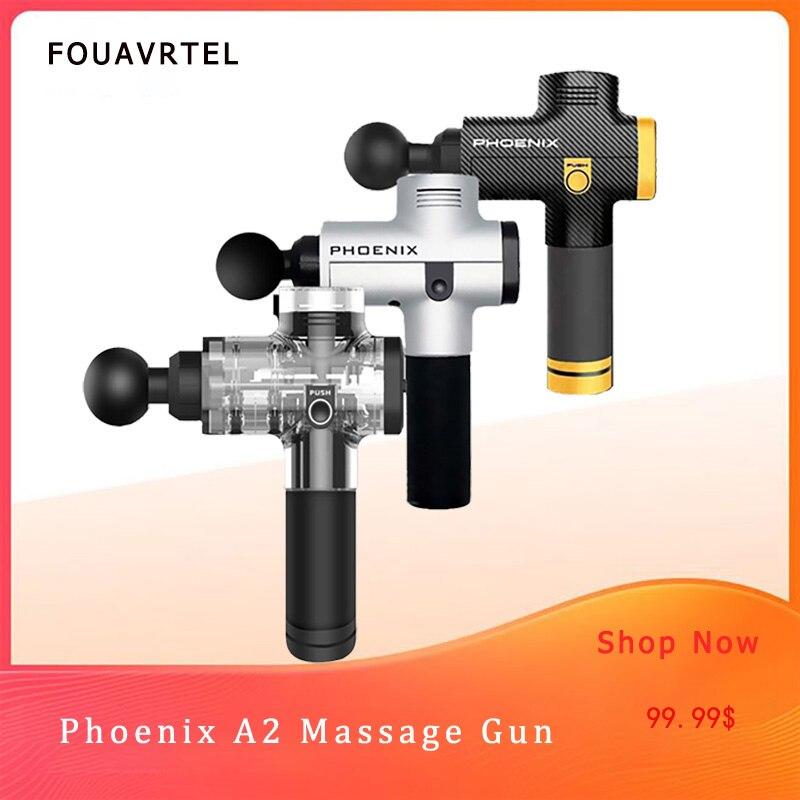 Phoenix A2 pistolet de Massage musculaire profond thérapie masseur corporel appareil de Massage musculaire électronique thérapie Massage corporel dispositif de Relaxation