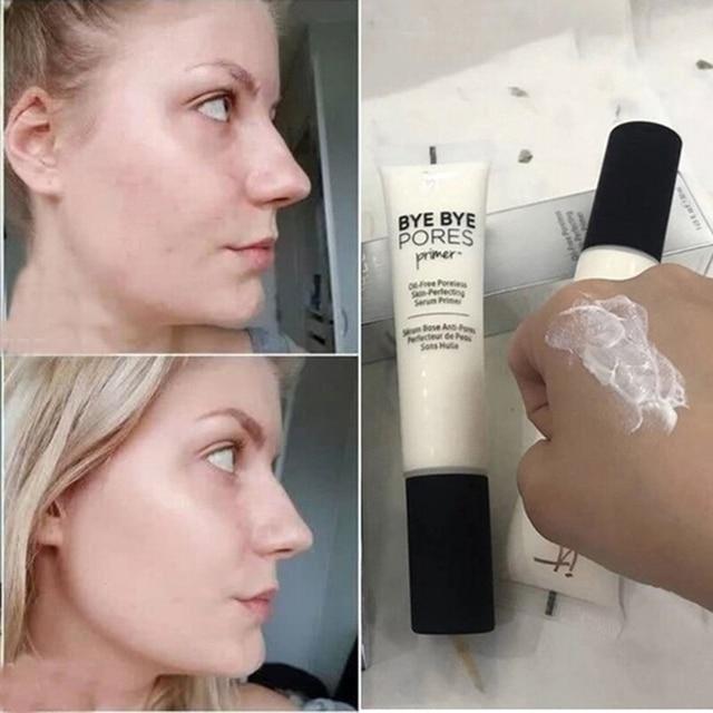 It Cosmetics Makeup Primer Cream Bye Bye Pore Moisturizing Hydration Oil-Control Eyes Skin Brighten Make Up Base