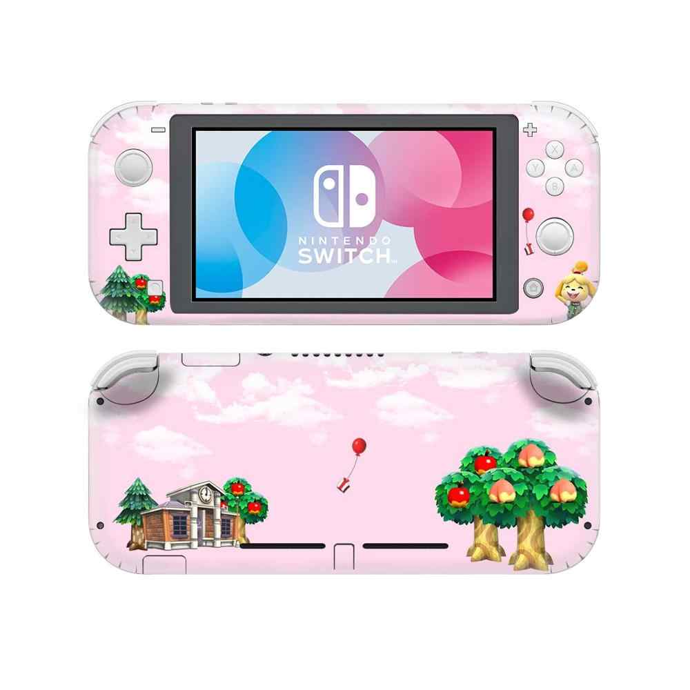 Animal Crossing Nintendoswitch Kulit Stiker Cover untuk Nintendo Switch Lite Pelindung Nintend Switch Lite Kulit Stiker