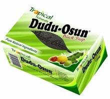 150 г, Тропическое Африканское натуральное черное мыло Dudu Osun с натуральным ингредиентом, увлажняющее Африканское мыло Ши, черный мед, какао, а...