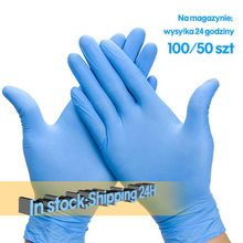 100Pcs Household Latex Gloves Disposable Kitchen Dishwashing Gloves Nitrile Work Garden Gloves Universal For Left And Right Hand