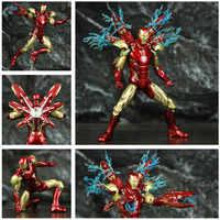 """Marvel Avenger 4 Endgame Eisen Mann MK85 7 """"Action Figur Ironman Mark 85 Nano Waffen Tony stark Legends ZD spielzeug Puppe Modell"""