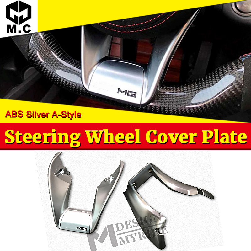 W253 A-style Steering Wheel Low Cover plate ABS For GLC-Class GLC200 GLC300 Automotive interior 2016+