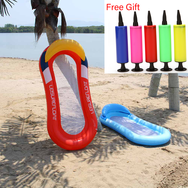 Shade Floating Bed Swimming Tube Bagel Lounge Inflatable Float Adult Swim Ring Air Mat Pool Raft Swimming Air Mattresses Sports