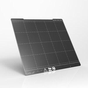 MK3 I3 пружинная стальная пластина 254*241 мм Печатная платформа лист текстурированная PEI пленка с электропокрытием Heatbed для Prusa I3 MK3 MK3S Ender3