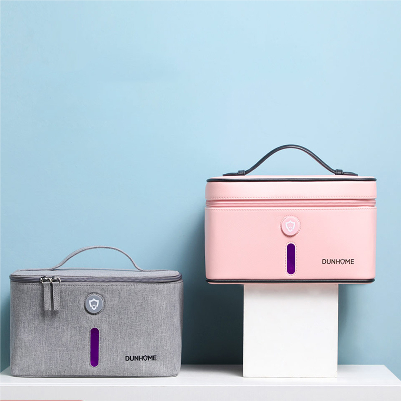 Dunhome 8W Disinfectant Tank LED Ultraviolet Light Anion Sterilizer Box Storage Bag Carry Case Outdoor Travel