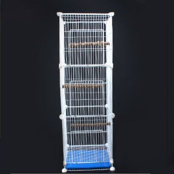 Budgerigar Cage Wrought Iron Thrush Embroidered Starling Stainless Bird Cage Large Bird Cage Parrot Cage