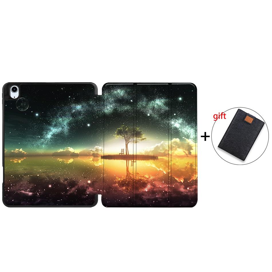 IPBC18 MULTI MTT Tablet Case For iPad Air 4th Generation 10 9 inch Soft TPU PU Leather Flip