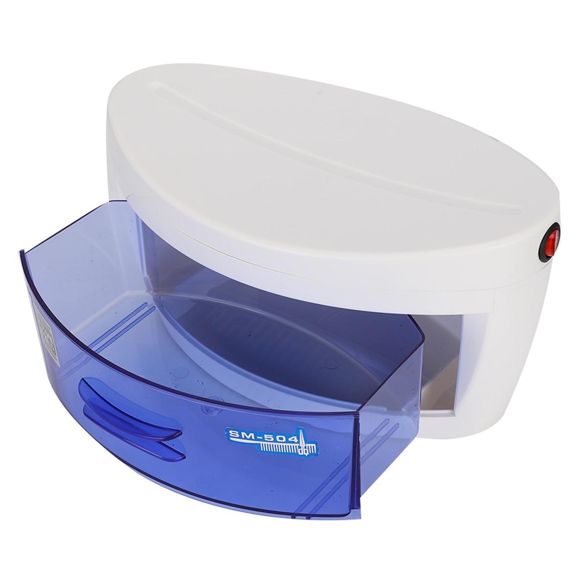 UV Sterilizer Box Double Ozone Ultraviolet Disinfection Sterilizion Machine For Manicure Nail Art Tools UV Light Sterilizer Box