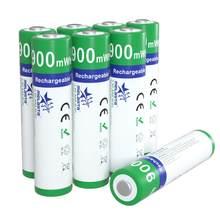 AAA 1.65V 900mWh ni-zn batterie NIZN batteries rechargeables aaa ni-zn pour appareil photo numérique jouets lecteurs CD horloge télécommande