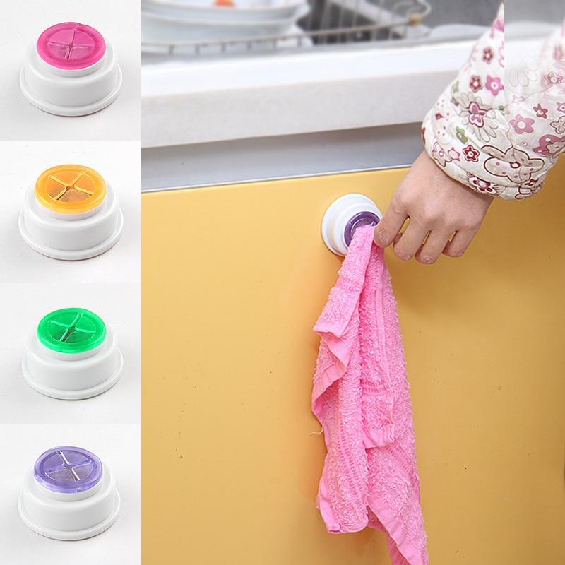1PC  Storage Organization Towel Clip Kitchen High Quality Bathroom Wash Cloth Home Supplies Storage Hooks